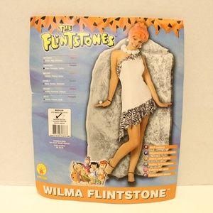 Wilma Flintstone Rubies Costume Wig Necklace Adult